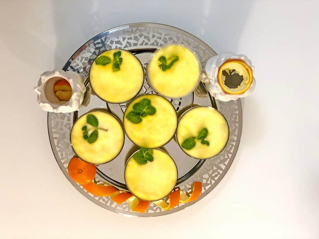 mousse all'arancia: presentazione del dessert mousse Mousse all'Arancia 11 1024x768