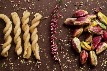 pasta con pesto di pistacchi