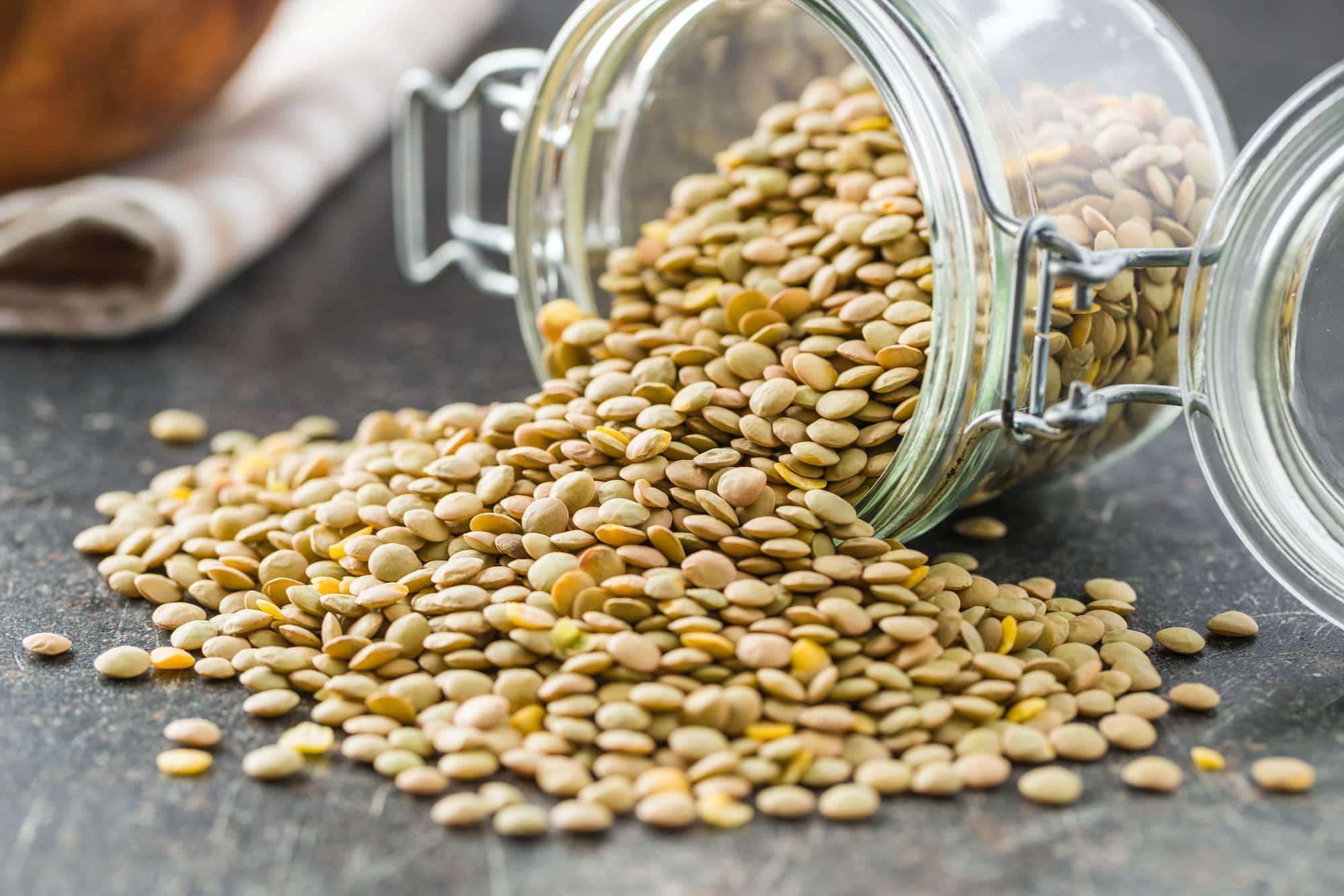 lentils from onano italy